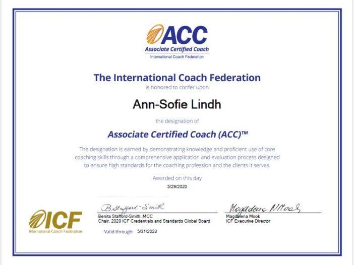 Diplom ACC